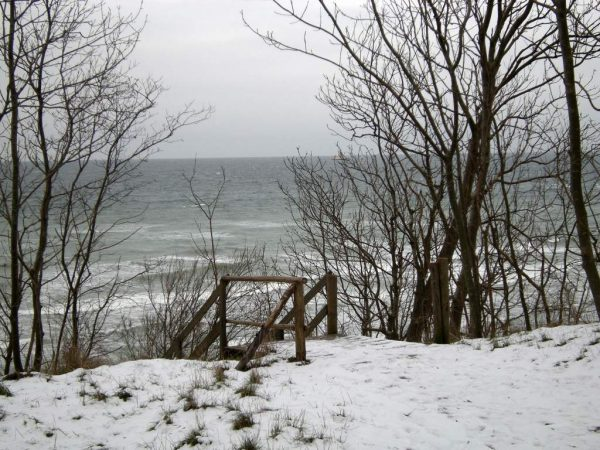 Winter in Lancken auf Rügen